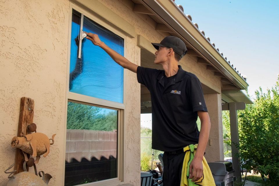 commercial window cleaning fountain hills