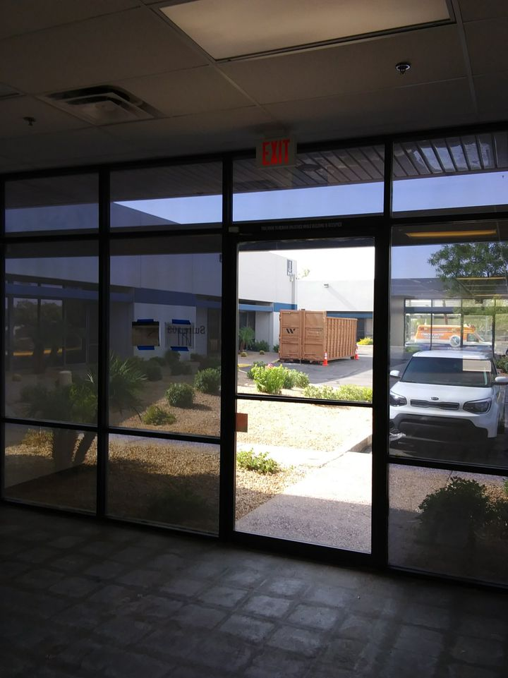 commercial window cleaning gilbert